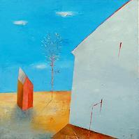 Kestutis-Jauniskis-Bauten-Haus-Moderne-Abstrakte-Kunst-Action-Painting