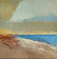 Kestutis-Jauniskis-Landschaft-See-Meer-Moderne-Abstrakte-Kunst-Action-Painting