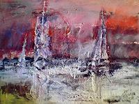 Josef-Fekonja-Abstraktes-Moderne-Abstrakte-Kunst