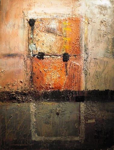 Josef Fekonja, quadrato 1, Abstraktes