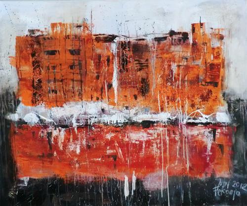 Josef Fekonja, Transformation, Abstraktes, Architektur, Gegenwartskunst