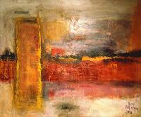 Josef-Fekonja-Abstraktes-Abstraktes-Moderne-Abstrakte-Kunst