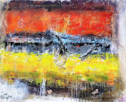 Josef Fekonja, o.T., Abstraktes, Architektur, Gegenwartskunst