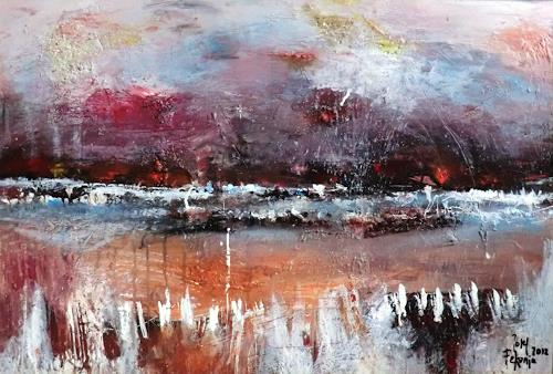 Josef Fekonja, Remember Sizilia, Abstraktes, Landschaft: See/Meer, Gegenwartskunst