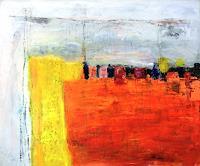 Josef-Fekonja-Abstraktes-Diverse-Landschaften-Moderne-Abstrakte-Kunst