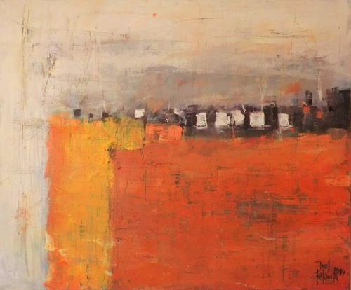 Josef Fekonja, ohne Titel, Abstraktes, Diverse Landschaften, Gegenwartskunst, Expressionismus