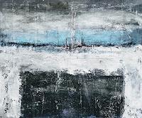 Josef-Fekonja-Abstraktes-Landschaft-See-Meer-Moderne-Abstrakte-Kunst