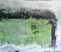 Josef-Fekonja-Abstraktes-Landschaft-See-Meer-Moderne-Expressionismus-Abstrakter-Expressionismus