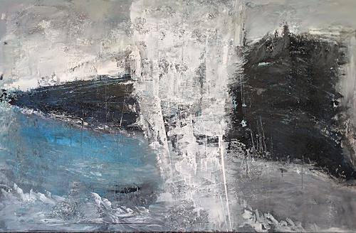 Josef Fekonja, Newcomer / Quereinsteiger, Abstraktes, Landschaft, Abstrakte Kunst