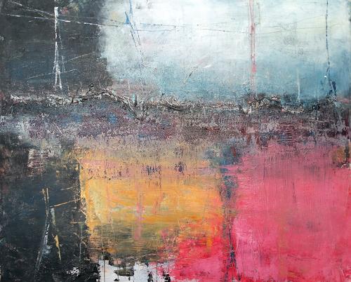 Josef Fekonja, ohne Titel, Abstraktes, Landschaft, Gegenwartskunst