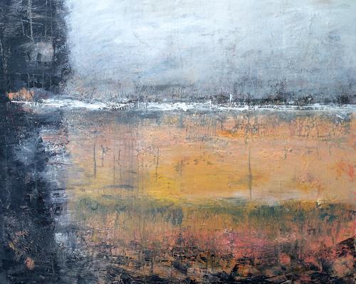 Josef Fekonja, ohne Titel, Abstraktes, Landschaft, Abstrakte Kunst, Abstrakter Expressionismus