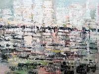 Josef-Fekonja-Abstraktes-Landschaft-Moderne-Abstrakte-Kunst