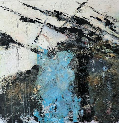 Josef Fekonja, ohne Titel, Abstraktes, Fantasie, Abstrakte Kunst