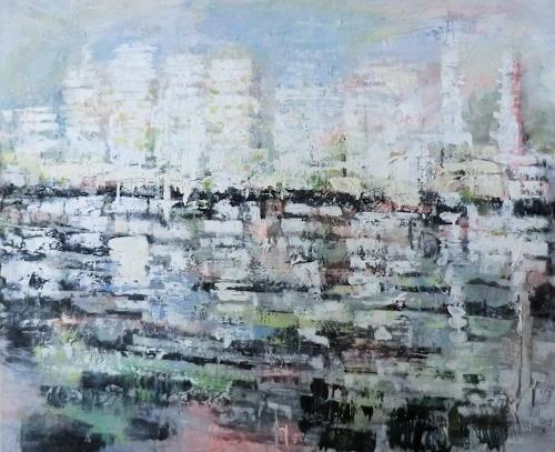 Josef Fekonja, ohne Titel, Abstraktes, Landschaft, Abstrakte Kunst