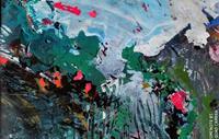 Josef-Fekonja-Landschaft-Natur-Moderne-Abstrakte-Kunst