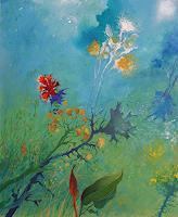 Marian-Czura-Pflanzen-Blumen-Moderne-Impressionismus-Neo-Impressionismus
