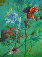 Marian-Czura-Pflanzen-Blumen-Moderne-Moderne