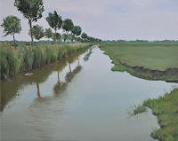 Svantje-MIras-Landschaft-Ebene-Landschaft-Sommer-Neuzeit-Realismus
