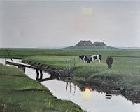 Svantje-MIras-Landschaft-See-Meer-Landschaft-Ebene-Neuzeit-Realismus