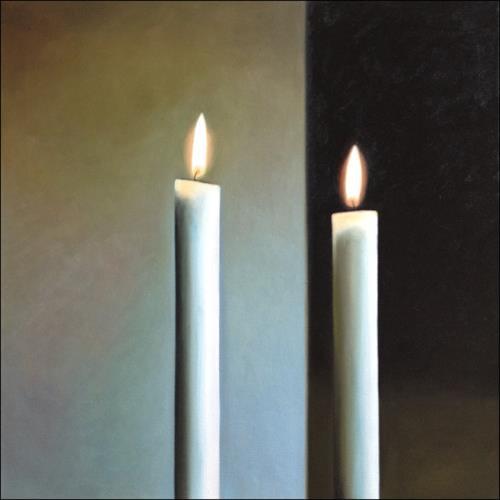 Svantje Miras, Richters Kerzen, 04, Stilleben, Situationen, Realismus, Expressionismus