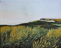 Svantje-MIras-Landschaft-See-Meer-Landschaft-Strand-Neuzeit-Realismus