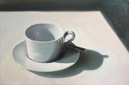 Svantje Miras, Kaffeetasse, Stilleben, Situationen, Realismus, Expressionismus