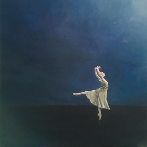 Svantje Miras, Ballett - Ballerina - Peer Gynt, Menschen: Frau, Diverse Menschen, Realismus, Expressionismus