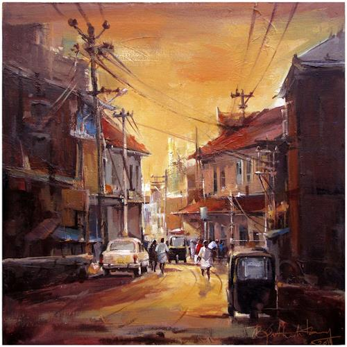 satheesh kanna, A street from Kerala [India], Diverse Landschaften, Natur: Diverse, Expressionismus