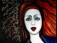 Esmeralda-Deike-Gefuehle-Trauer-Menschen-Frau-Moderne-Moderne