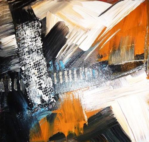 Petra Wendelken, Der Weg, Abstraktes, Abstrakte Kunst