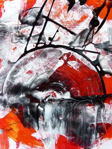 Petra Wendelken, Zeitwirbel, Abstraktes, Abstrakte Kunst, Expressionismus