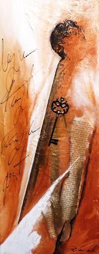 Petra Wendelken, verschlüsselte Worte, Abstraktes, Abstrakte Kunst