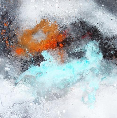 Petra Wendelken, Außerhalb der Zeit 2, Abstraktes, Abstrakte Kunst