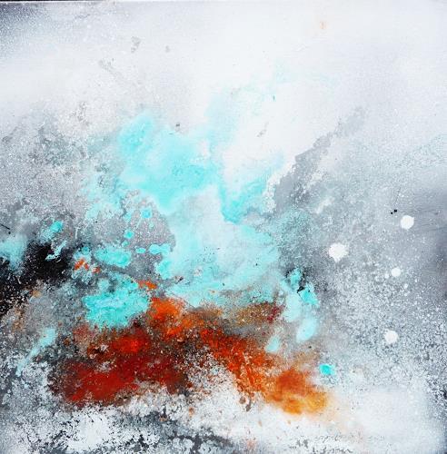 Petra Wendelken, Außerhalb der Zeit 1, Abstraktes, Abstrakte Kunst, Expressionismus