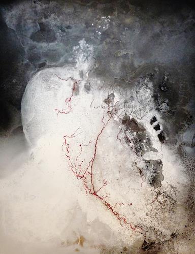 Petra Wendelken, Broken Heart, Abstraktes, Abstrakte Kunst, Abstrakter Expressionismus