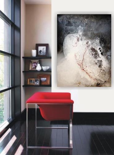 Petra Wendelken, Broken Heart, Abstraktes, Abstrakte Kunst