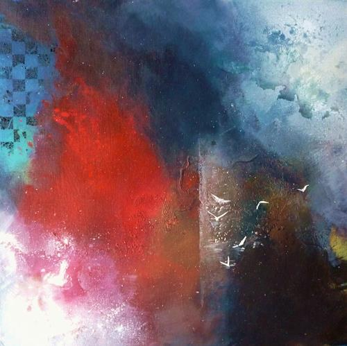 Petra Wendelken, Zwischen Tag und Traum, Abstraktes, Abstrakte Kunst