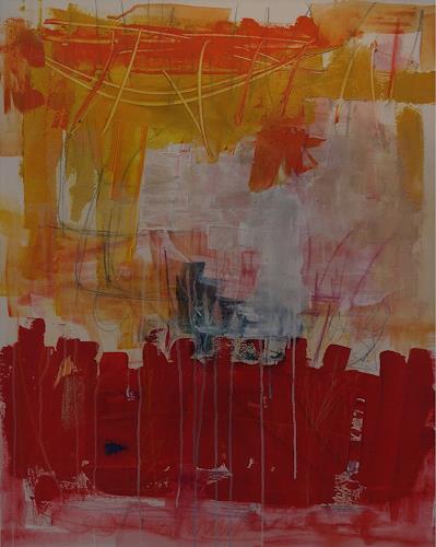 Iris Rickart, O/T, Abstraktes, Abstraktes, Abstrakte Kunst
