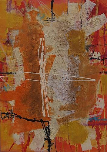 Iris Rickart, O/T, Abstraktes, Diverses, Abstrakte Kunst