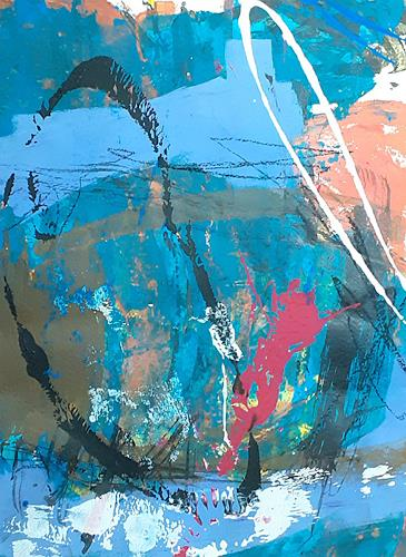 Iris Rickart, pap22, Abstraktes, Abstraktes, Abstrakte Kunst, Expressionismus