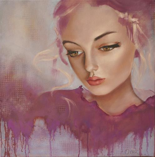 Christine Oster, O/T, Fantasie, Gefühle: Geborgenheit, Realismus, Expressionismus