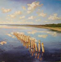 Christine-Oster-Landschaft-See-Meer-Natur-Wasser-Neuzeit-Realismus