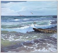 Christine-Oster-Landschaft-See-Meer-Natur-Wasser-Moderne-Naturalismus
