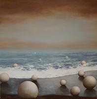 Christine-Oster-Landschaft-See-Meer-Landschaft-Strand-Neuzeit-Realismus