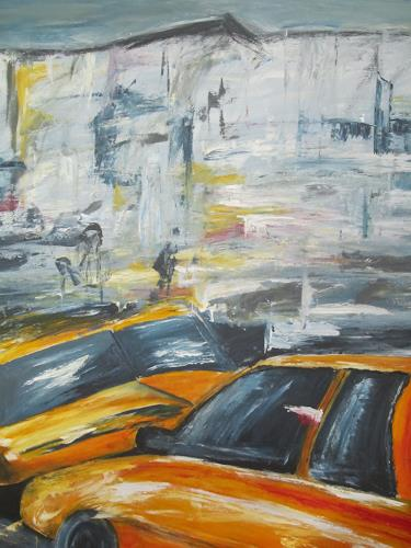 Christa Geßwagner, New York, Abstraktes
