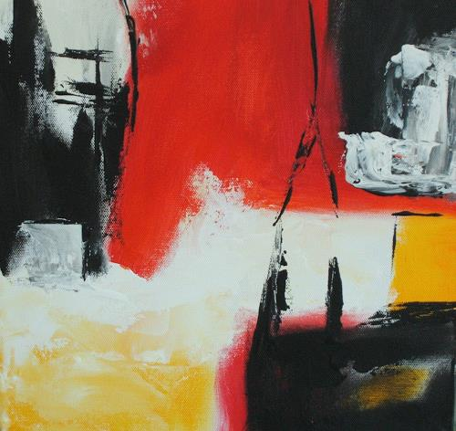 Christa Geßwagner, O/T, Abstraktes
