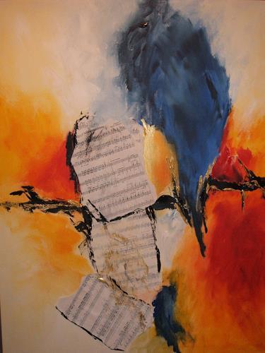 Christa Geßwagner, Musik, Abstraktes