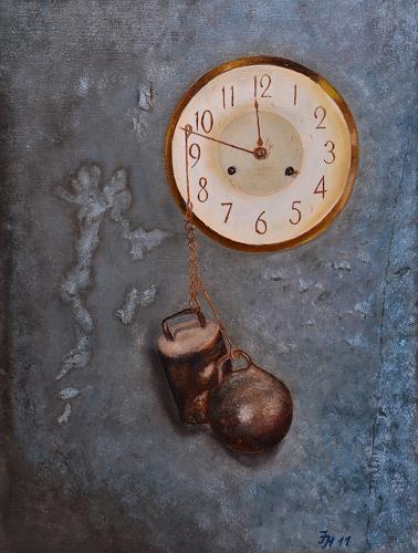 Irene Haas, Zeit-Stillstand, Symbol, Stilleben, Realismus