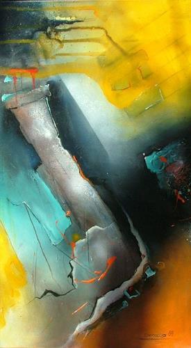 Michaela Steinacher, gefärbte Gedanken, Abstraktes, Moderne, Expressionismus