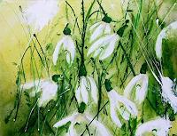Michaela-Steinacher-Landschaft-Winter-Pflanzen-Blumen-Moderne-Moderne